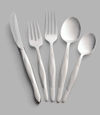 5-Pc. Stainless Place Setting with Stainless Table Knife ...