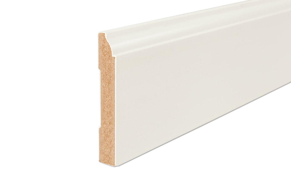 Grafton Gesso Coated Architectural Baseboards 16\u0027 Baseboard 1/2\