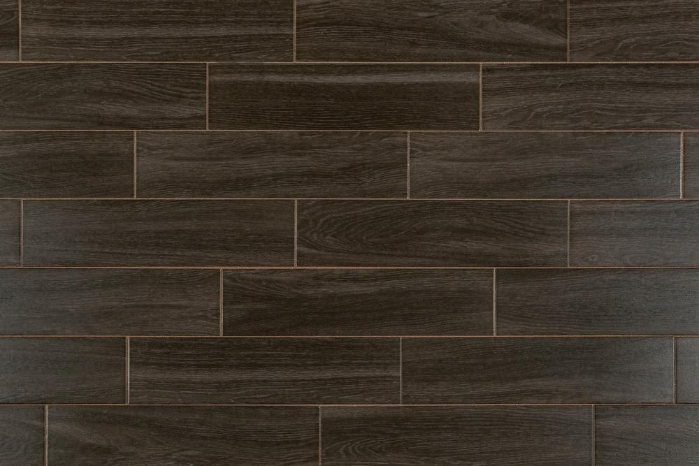 Free Samples Salerno Ceramic Tile Harbor Wood Series Dark Oak 6quotx24quot