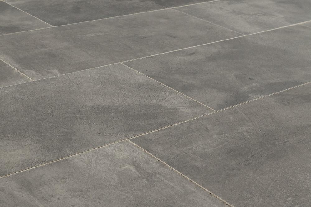 Salerno Porcelain Tile Concrete Series Dark Gray 12quotx24quot