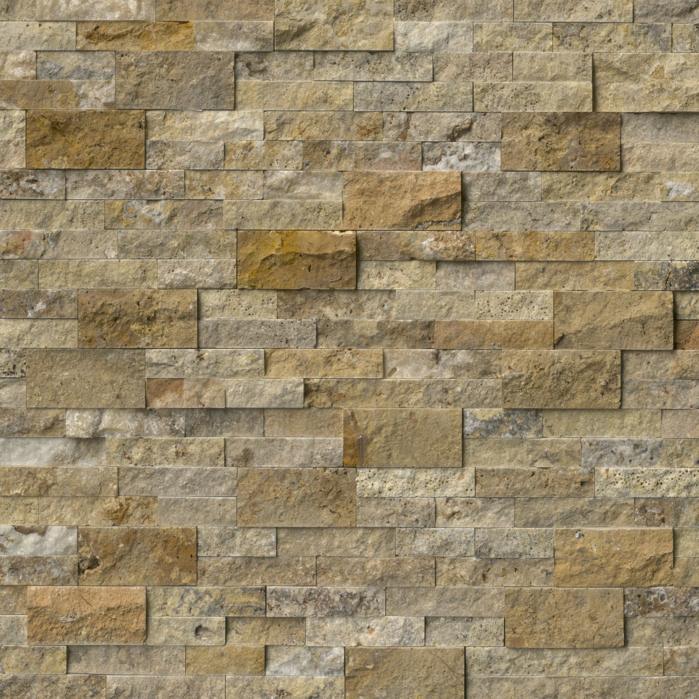 3d Embossed Brick Wallpaper Ms International Stone Siding Travertine Tuscany Scabas