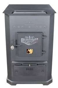 US Stove Warm Air Furnaces Warm Air Furnaces / Black / 8500