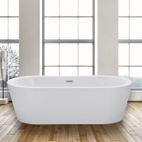 WoodbridgeBath Woodbridge Acrylic 67 Freestanding Bathtub ...