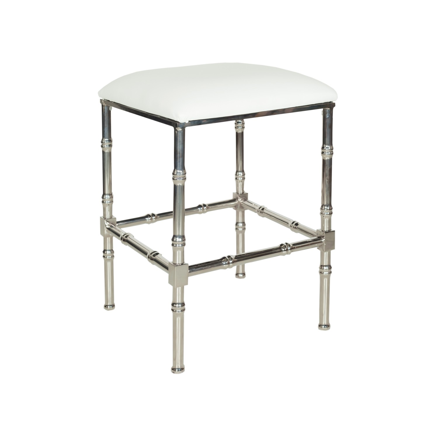 Couchtisch Martinique Metal Faux Bamboo Counter Stool Mecox Gardens