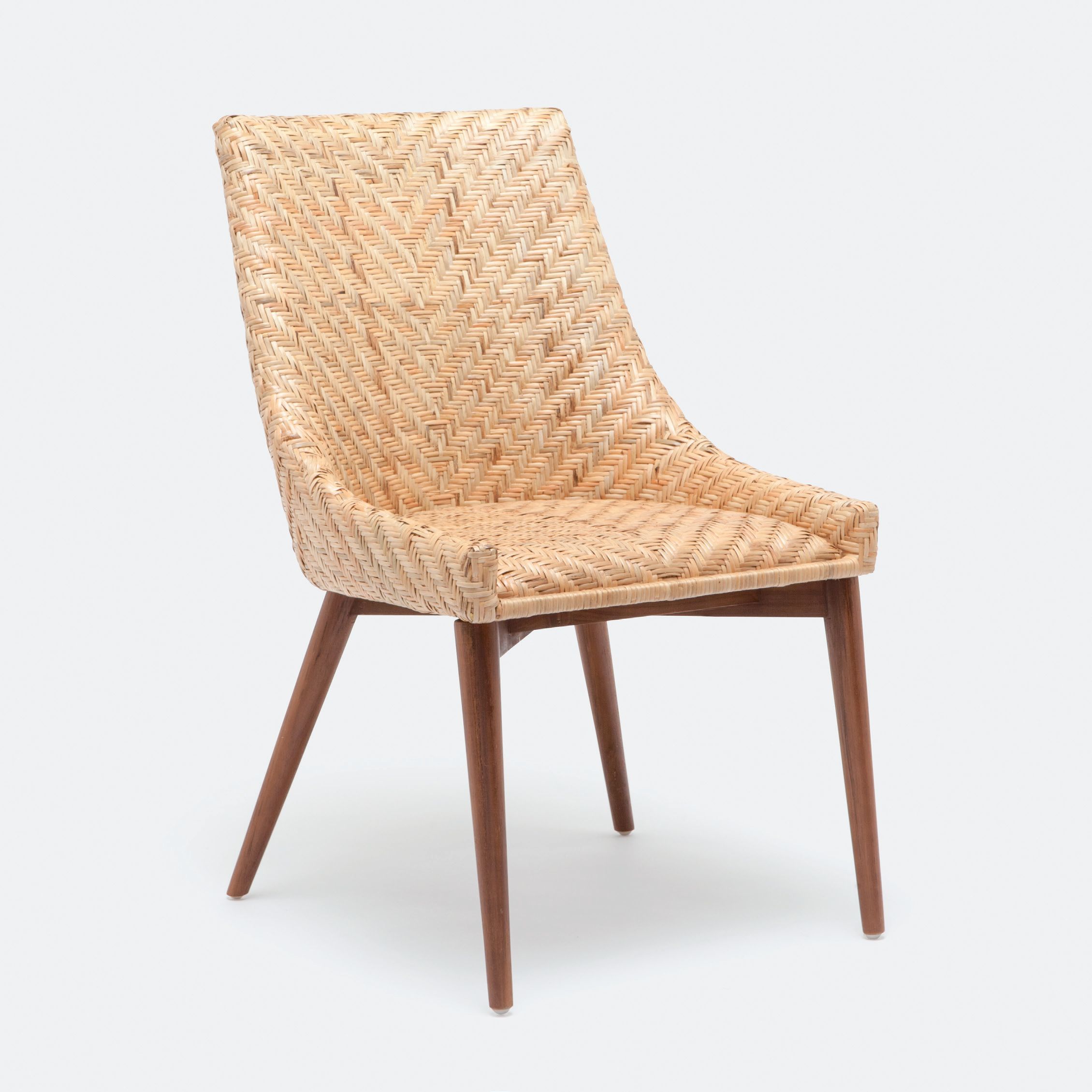 Rattan Chairs Woven Rattan Dining Chair Mecox Gardens
