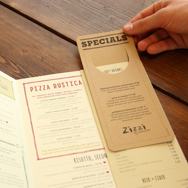 20 Tasty Restaurant Menu Designs For Your Inspiration