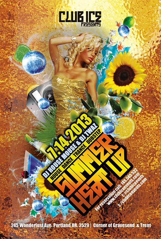summer flyer templates - Baruthotelpuntadiamante - summer flyer template