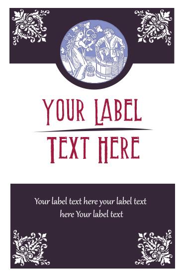Free Illustrator Templates for Custom Wine Labels NextDayFlyers