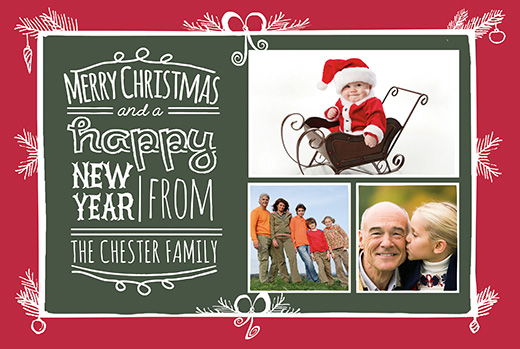 Download Free Photo Christmas Card Templates