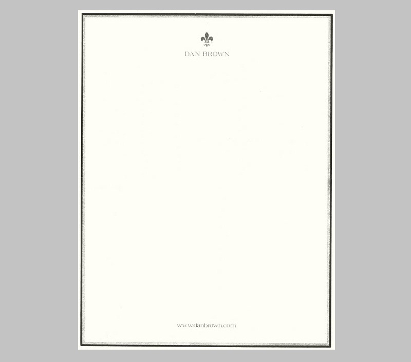 40 Captivating Personal Letterheads of Influential People - free personal letterhead templates word