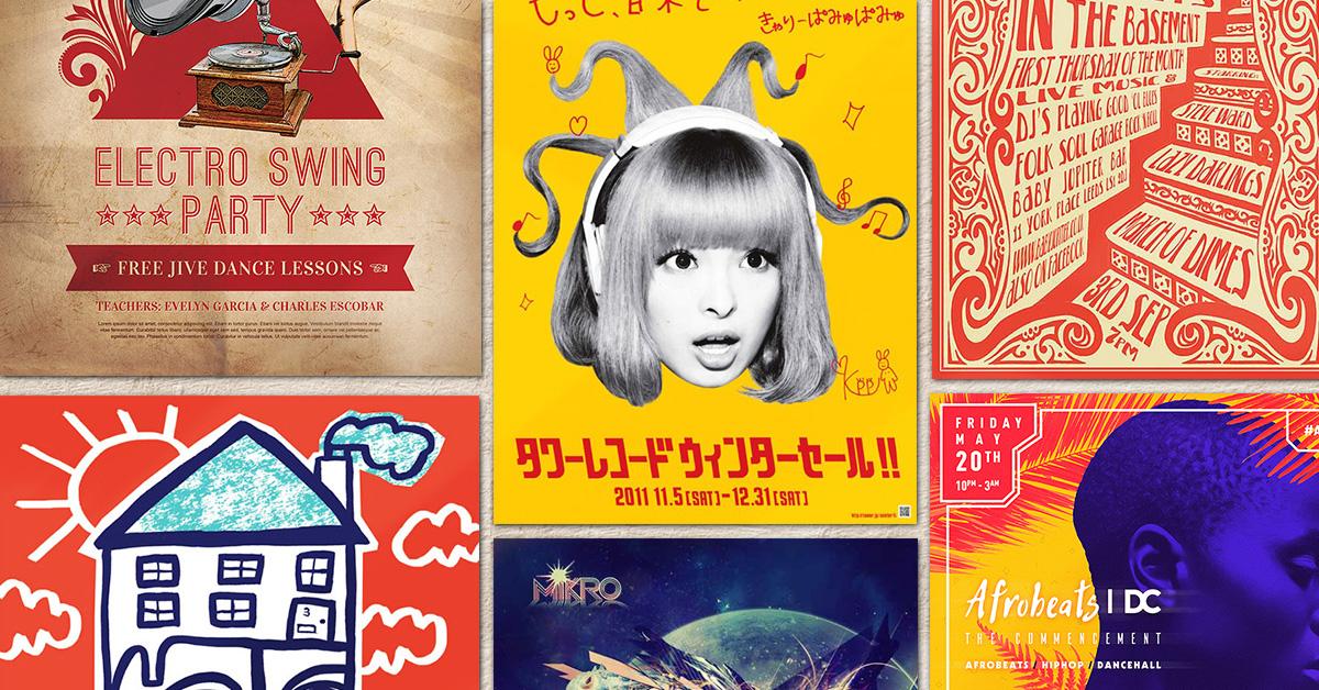 54 of the Best Flyer Design Examples We\u0027ve Seen in 2016