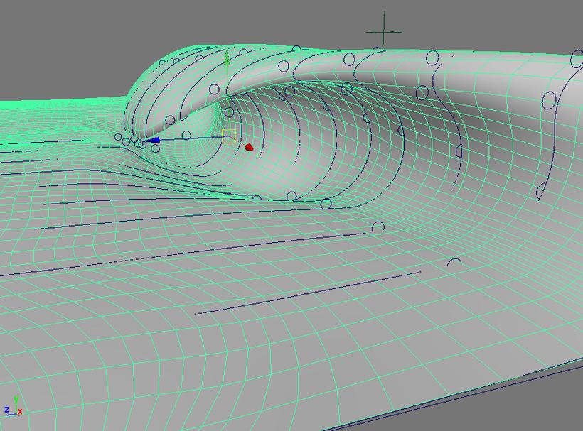 Wave Pro 15 3D Model - ocean waves animations