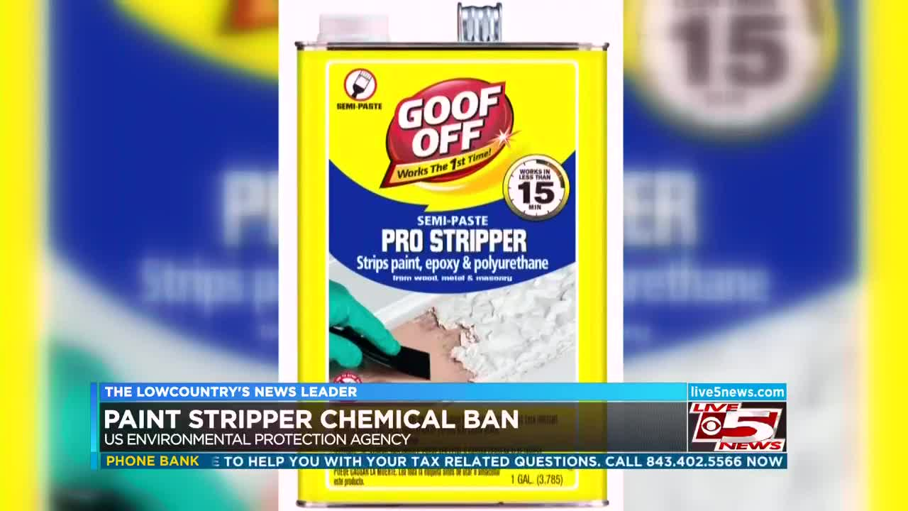 Paint Stripper Epa Bans Sale Of Chemical In Paint Stripper Which Killed North