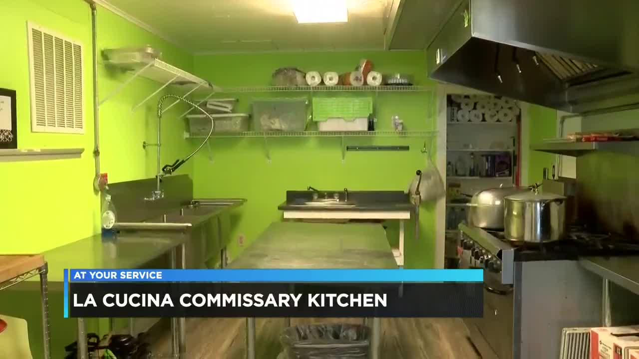 Cucina Kitchen Sign Lake Area Woman Starts First Commissary Kitchen In Lake Charles