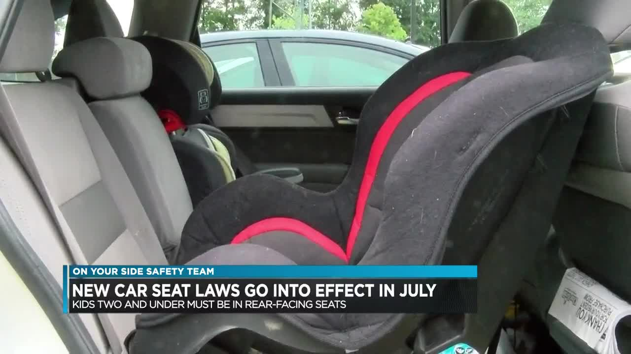 Rear Facing Car Seat Law Nj New Car Seat Laws Take Effect July 1
