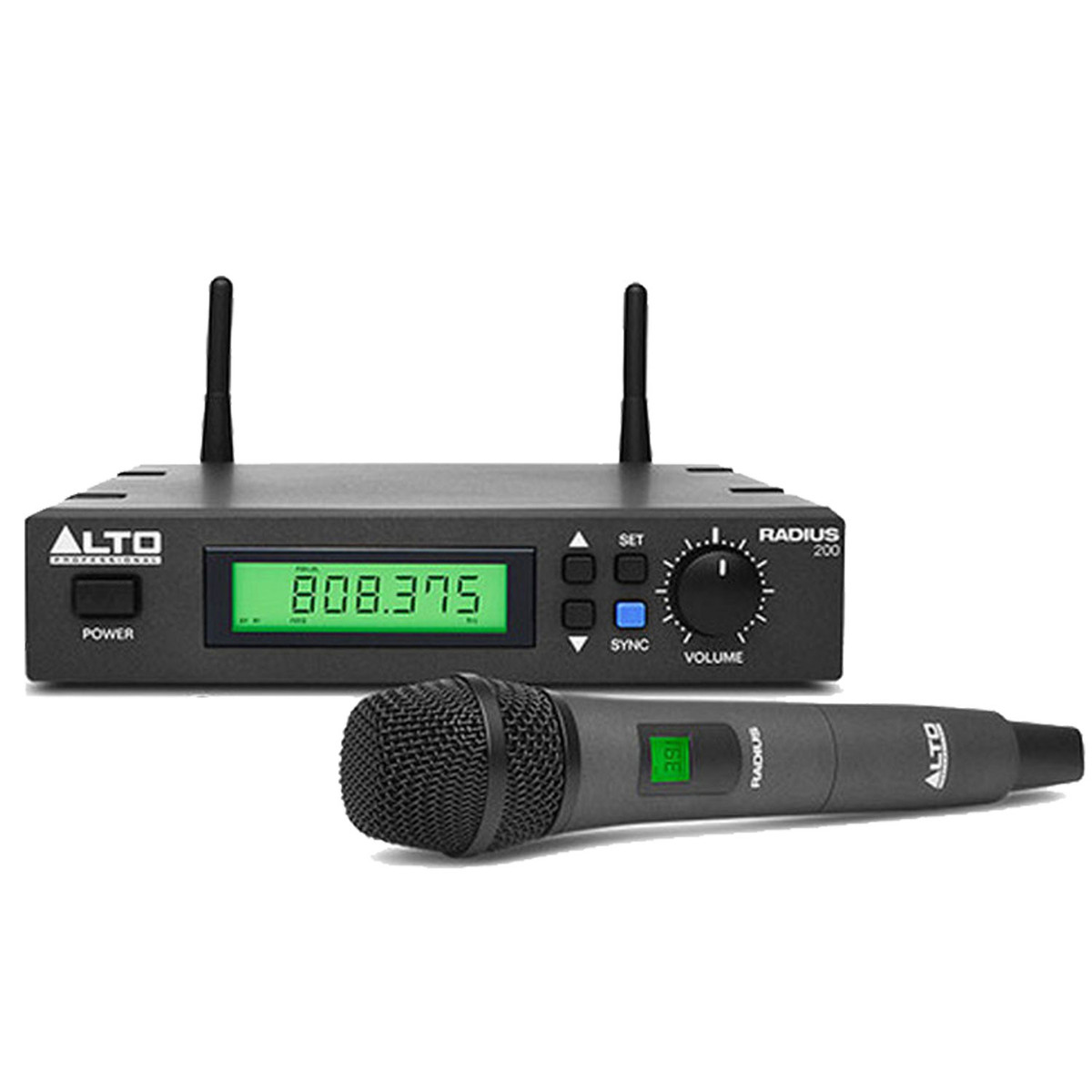 Alt Alto Alto Radius 200 Wireless Dynamic Handheld Microphone
