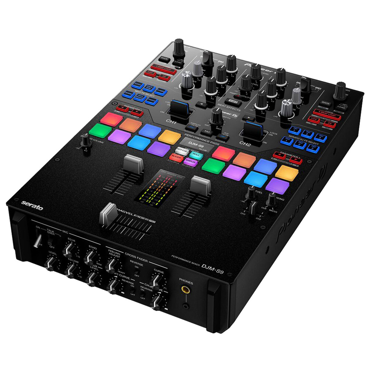 Mesa De Mezclas Amazon Pioneer Djm S9 2 Channel Scratch Mixer For Serato Dj
