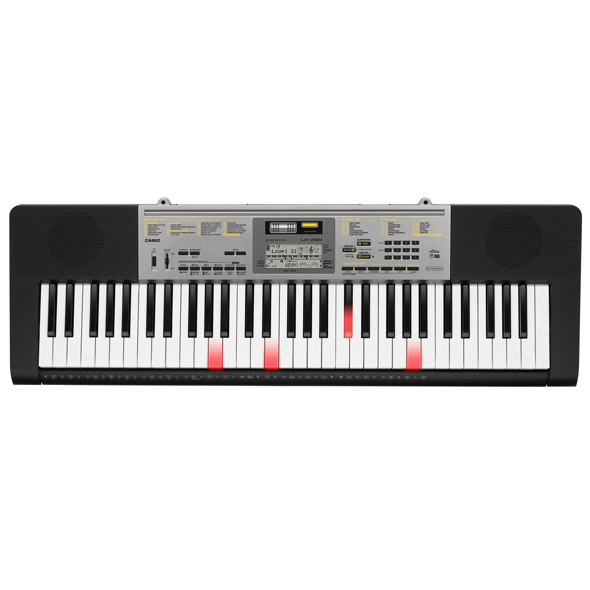 Touch Key Beleuchtung Casio Lk 260 61 Touch Sensitive Key Lighting Keyboard