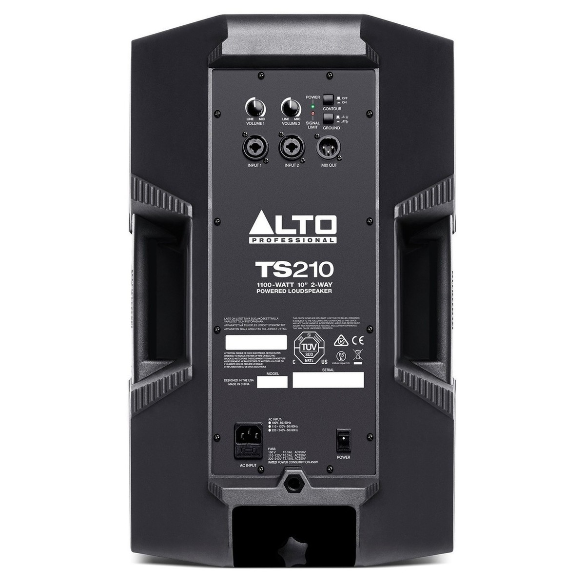 Alt Alto Alto Truesonic Ts210 10 Quot Speakers With Stands And Bag