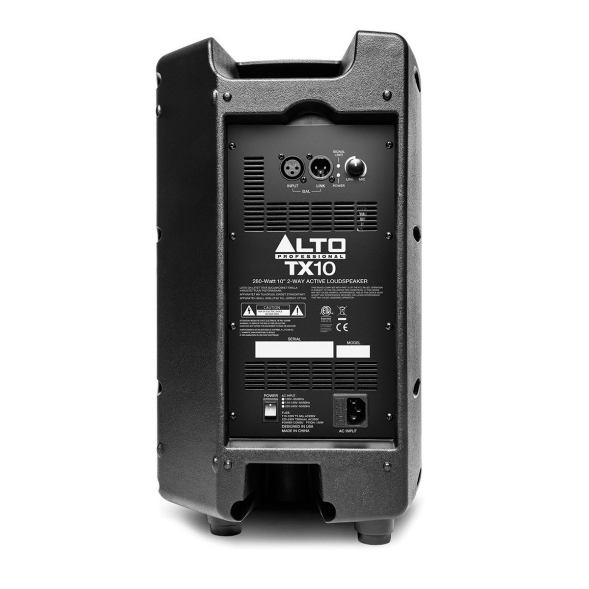 Alt Alto Alto Tx10 Active Pa Speakers With Stands And Bag Hos