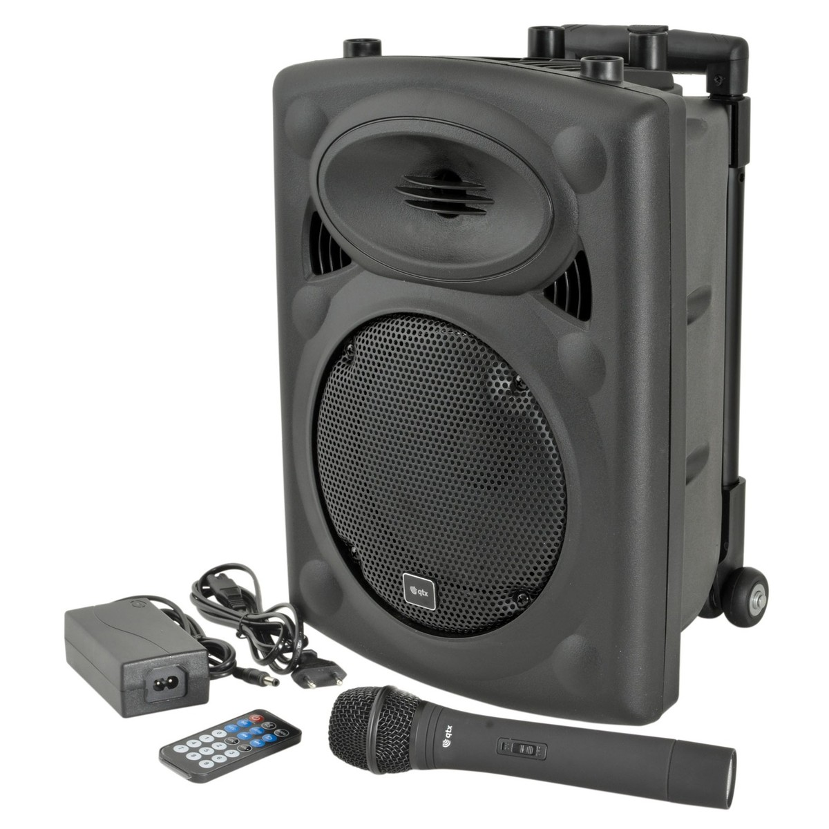 Draagbare Luidspreker Qtx Qr8 Portable Pa Speaker With Wireless Microphone