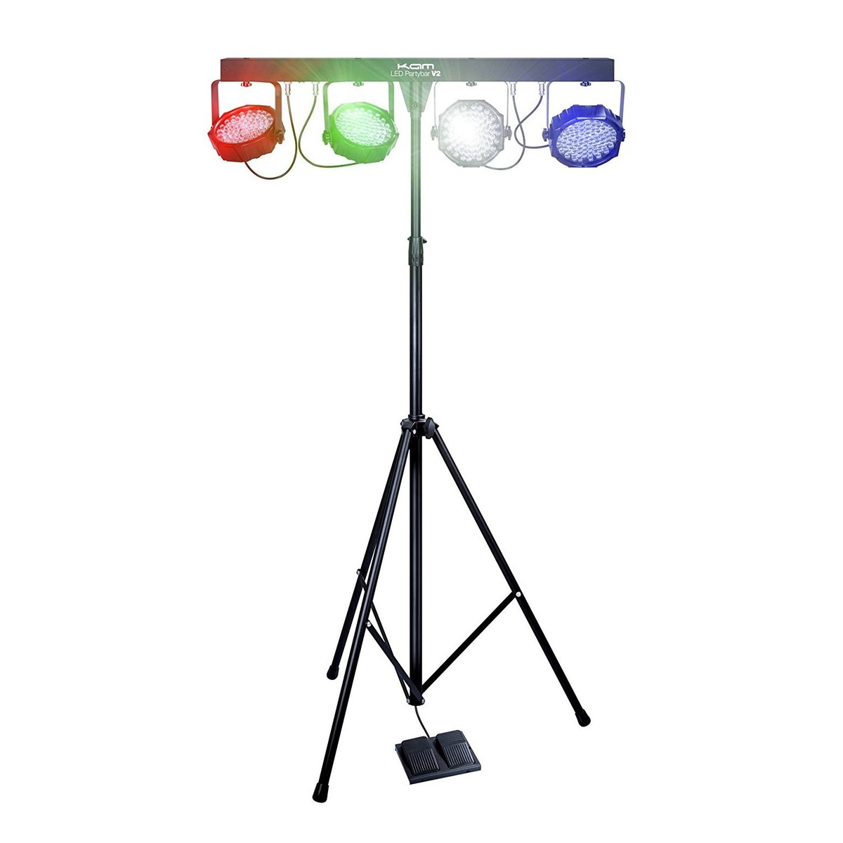 Eclairage Portable Kam Led Partybar V2 Portable Lighting Package
