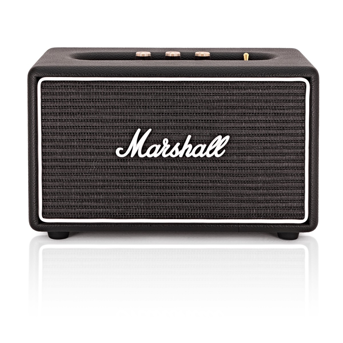 Box Bluetooth Marshall Acton Bluetooth Speaker Classic Line Black Ltd Ed Box Opened