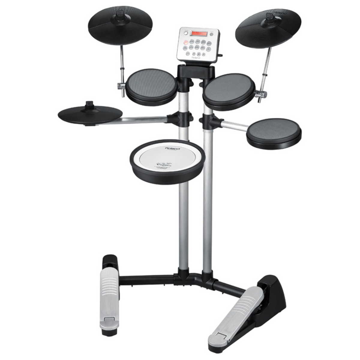 E On Electric Roland Hd 3 V Drums Lite Electronic Drum Kit Nearly New