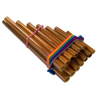 DISC Percussion Plus PP863 Peruvian Pan Pipes, 13 Note at ...