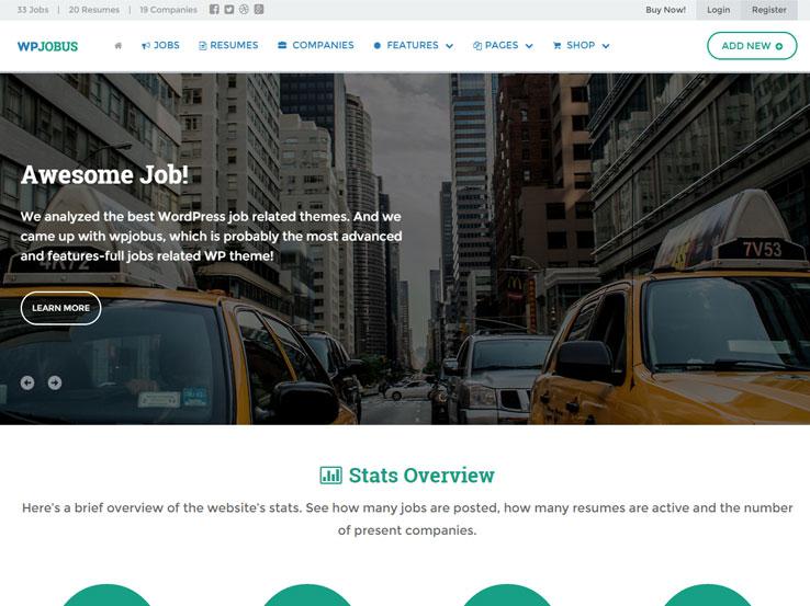 25+ Best Wordpress Job Board Themes 2018