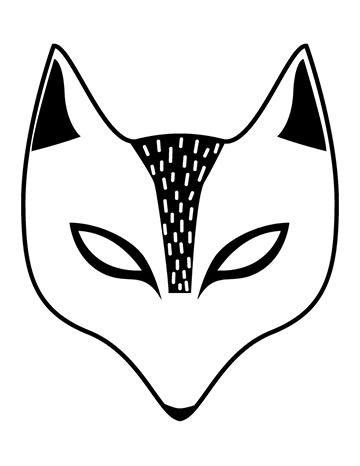 Free Printable Children\u0027s Halloween Masks LaPetite Academy