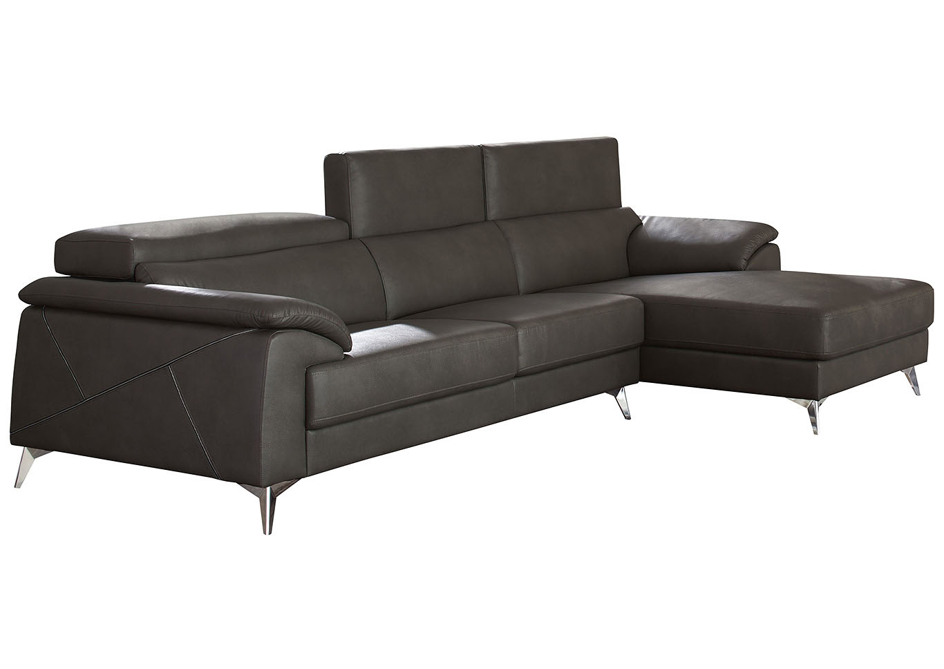 Chaises Discount Long Island Discount Furniture Tindell Gray Raf Chaise Sectional