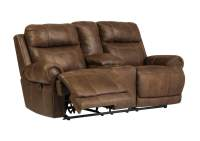 American Furniture Galleries Austere Brown Double ...