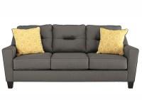 Langlois Furniture - Muskegon, MI Forsan Nuvella Gray Sofa