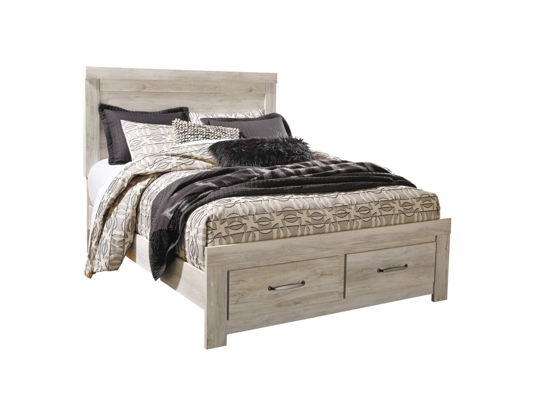 Buy A Bed Best Buy Furniture And Mattress Bellaby Whitewash Queen Platform