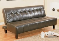 Mack's Furniture Warehouse Marco Espresso Adjustable Sofa