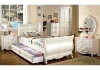 Furniture Ville - Bronx NY Alexandra Pearl White Full ...
