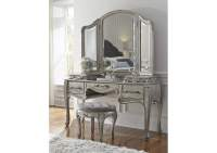 Orleans Furniture Rhianna Vanity Table Set w/Mirror & Stool