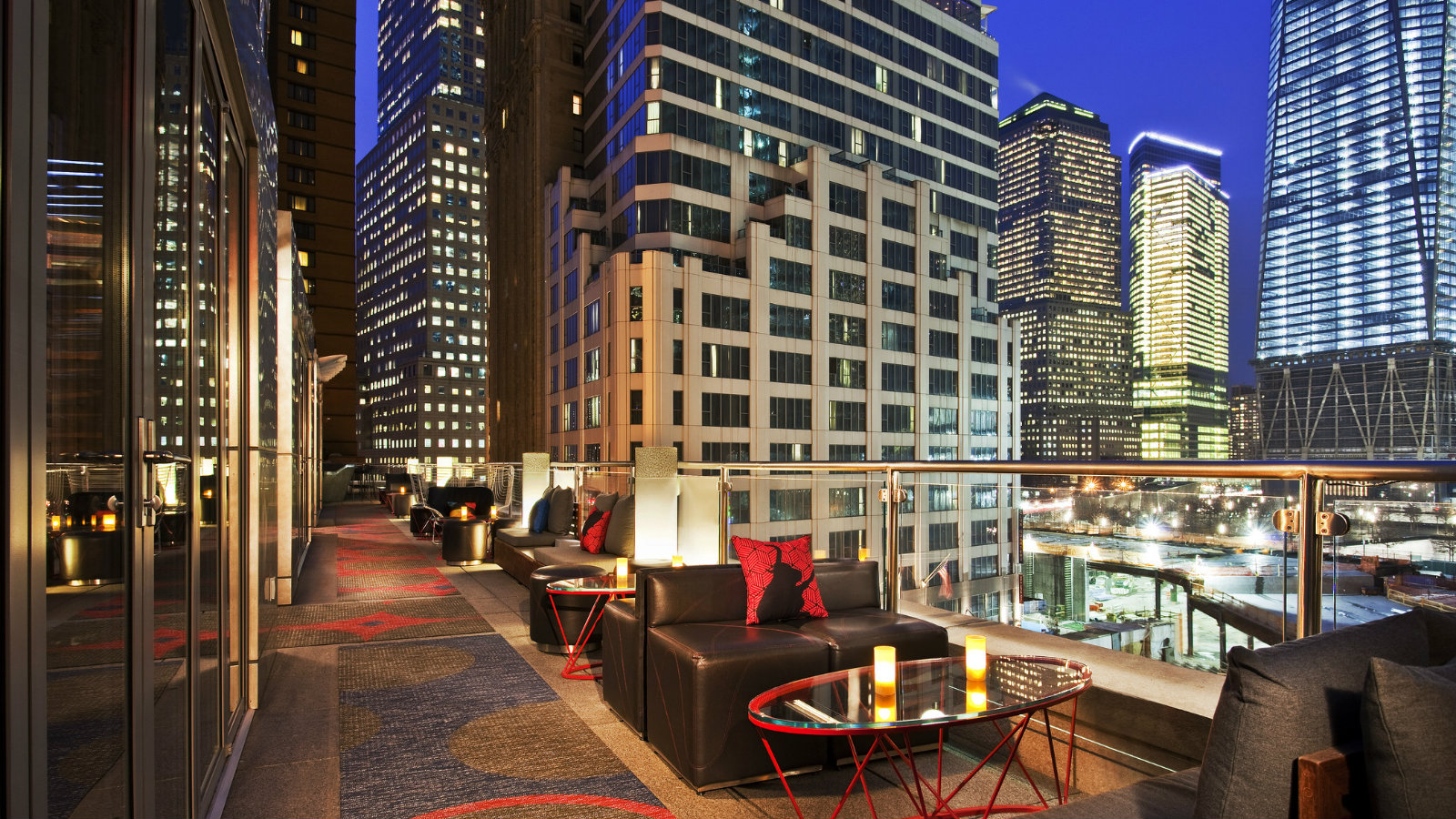 Hotel Toit Terrasse New York Event Venues Nyc W New York Downtown