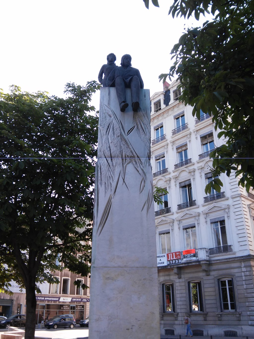 Lyon St Exupery Antoine De Saint Exupéry Monument What To See In Lyon
