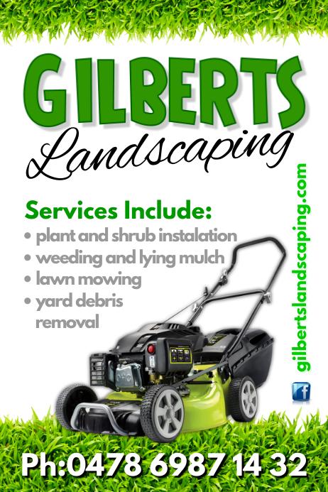 lawn care business flyers - Onwebioinnovate - free landscape flyer templates