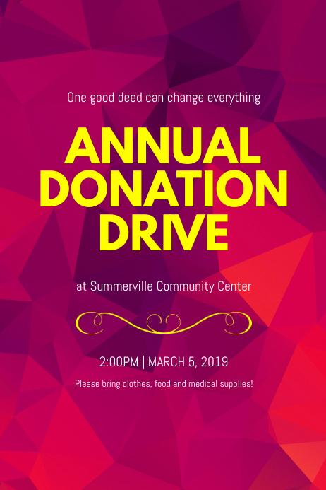 Donation Flyer Template Kicksneakers