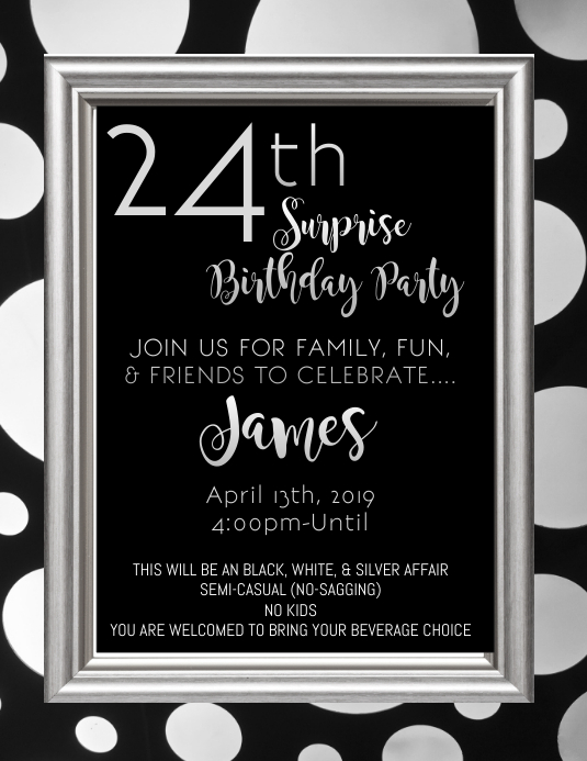 Birthday Party Flyer Template PosterMyWall