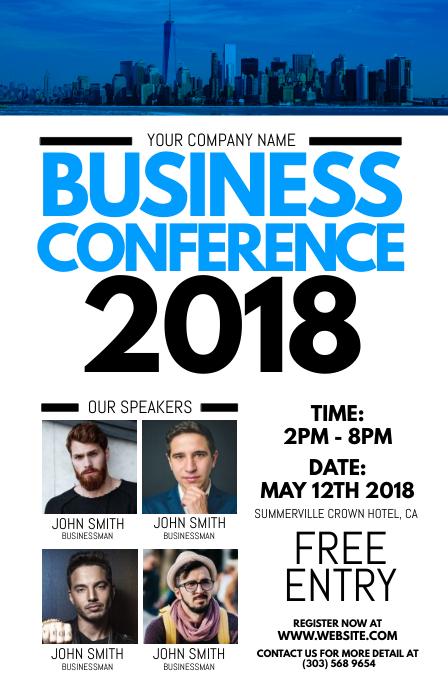 conference flyers templates - Boatjeremyeaton