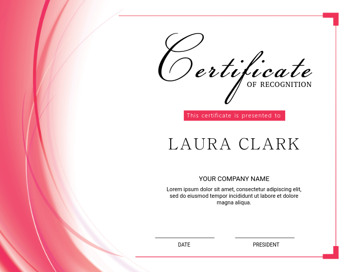 Certificate of Appreciation Template PosterMyWall