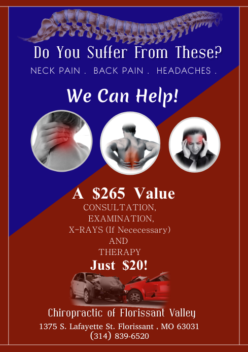 Chiropractic Care Template PosterMyWall