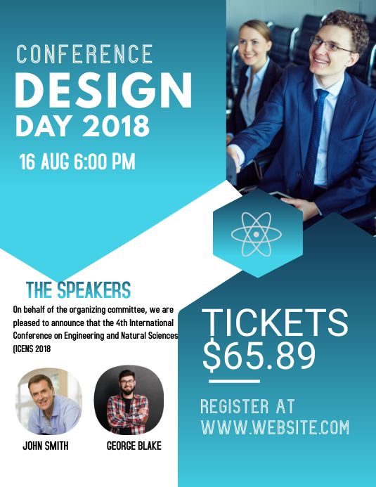 Conference Flyer Template PosterMyWall