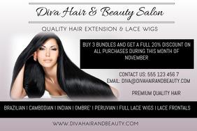 780 Customizable Design Templates For Hair Salon