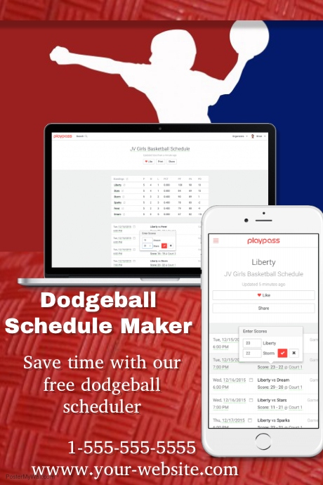 Game Schedule Template | ophion.co