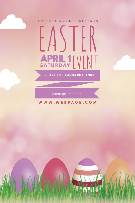 Easter Flyer Template PosterMyWall